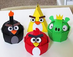 Check out these angry birds made with the Sweet Tooth Boxes cartridge!
