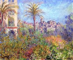 Villas at Bordighera - Claude Monet