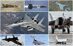 RENOVAÇÃO: A velocidade supersônica. Aviões Mais Rápidos do M...