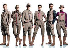 佐藤可士和氏を筆頭にした「ヤンマープレミアムブランドプロジェクト」で発表された、次世代アグリウェア(農業専用ウェア)。 #農業ファッション #農作業着 Mens Coveralls, Man Anatomy, Fashion Models, Fashion Outfits, Fashion Design Sketches, Fashion Books, Work Wear, Military Jacket, Menswear