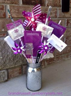"""A Jamberry """"bouquet"""" would make a great gift for Mother's Day or any occasion! Shop for your Jams at brandirussell.jamberrynails.net! Buy 3 get 1 free!"""