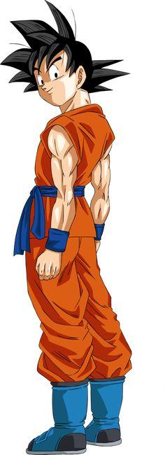 Goku - Dragon Ball Super Manga 05 by Accelerator16.deviantart.com on @DeviantArt
