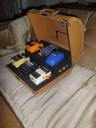 Resultado de imagen para suitcase pedal board