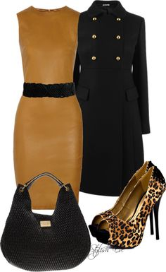 """Leopard Outfit !"" by stylisheve ❤ liked on Polyvore"