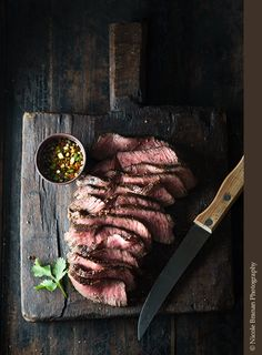 Grilled Steak with Lemongrass Ginger Dipping Sauce Recipe | The Spice Train