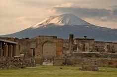 Mount Vesuvius, Pompeii, Italy. February 2002.