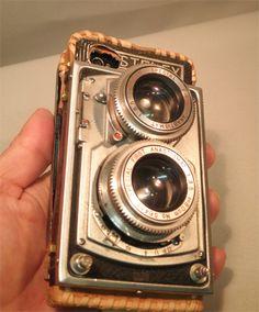 iPhone case FIRSTFLEX (1930'antique camera)tipe