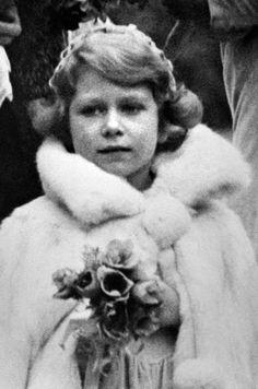 La princesse Elizabeth le 24 octobre 1931