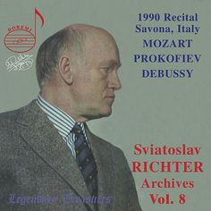 Richter Archives, Vol. 8: 1990 Savona, Italy Recital (Live) de Sviatoslav Richter