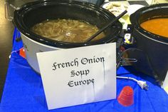 French onion- everyone said it was the best they had ever had.
