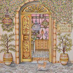 いいね!239件、コメント15件 ― Iris Eenmäeさん(@colorwithiris)のInstagramアカウント: 「From Romantic Country the Third Tale by Eriy. More at thecoloringaddict.com  #coloring #eriy…」