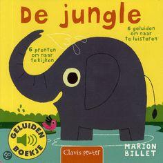 De jungle (geluidenboekje) - Marion Billet