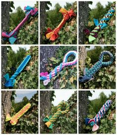 WauZieh - Hundespielzeug aus Fleece, handmade