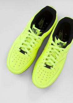 designer fashion 307ae 04616 Nike Air Force 1  Volt Green Cheap Nike, Nike Shoes Cheap, Nike Shoes