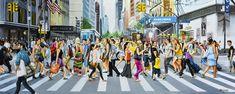 Original Cities Painting by Socrates Rizquez Original Paintings, Original Art, Realism Art, Photorealism, Enamel Paint, Impressionism, Wood Art, Buy Art, Saatchi Art