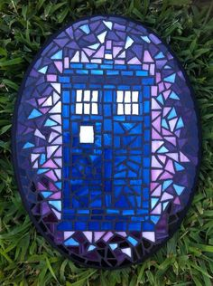 Doctor Who Tardis Mosaic