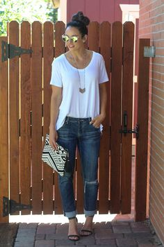 #paleomg Fashion Fridays - Dressing up boyfriend jeans