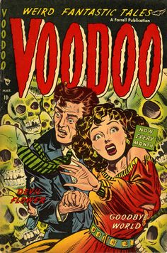 cover artist unknown, 1953, from my Popular Skullture book review...