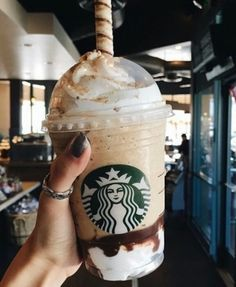 21 Best #Starbucks Drinks to Enjoy ... VANILLA BEAN FRAPPUCCINO WITH CARAMEL OR CHOCOLATE