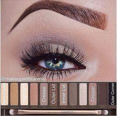 naked palette 2 for blue eyes