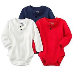 OshKosh B'gosh Solid Thermal Bodysuit - Baby