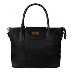 Max & Enjoy Le Nylon Tote Bag Schwarz