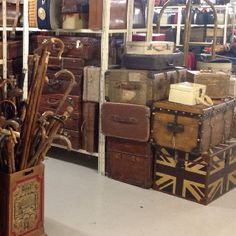 Vintage British luggage