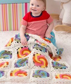 Pinwheel Baby Blanke