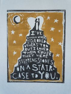 there was a avett brothers lyrics 16x20 on etsy 42 50
