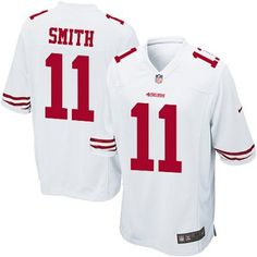 16dfcb772 nike nfl jersey Mens Nike NFL 11 Alex Smith Game Away White Football Jersey-  Cheap Nike NFL Jerseys Wholesale New NFL Jerseys 2012 Elite Football Jersey  nfl ...