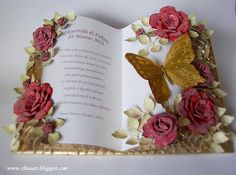 Arte Quilling, Diy And Crafts, Paper Crafts, Birthday Blessings, Card Book, Shaped Cards, Easel Cards, Die Cut Cards, Some Cards