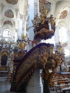 Neuzelle, Zisterzienser Abtei mit Pfarrkirche Zum Heiligen Kreuz (Brandenburg, Oder-Spree) DE