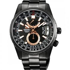 A-Watches.com - Orient Watch DH01001B, $438.00 (http://www.a-watches.com/dh01001b-fdh01001b-orient-automatic-dual-time-black-dial-watch/)