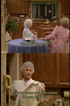 I LOVE the Golden Girls! haha