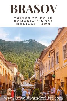 Things to do in Brasov: Exploring Romania's most magical town Travel Tips For Europe, Travel Around Europe, Travel Tours, Travel Guides, Places To Travel, Travel Destinations, Shopping Travel, Budget Travel, Traveling Tips