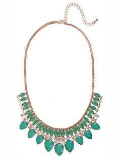 BaubleBar Emerald Stasia Bib