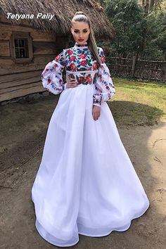 Сукня з болеро Кароліна - 15900 грн Beautiful Dresses, Nice Dresses, Casual Dresses, Winter Fashion Outfits, Fashion Dresses, Afghani Clothes, Traditional Mexican Dress, Afghan Dresses, Mexican Outfit