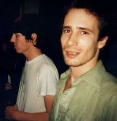 Still in love with this picture. Two of the Greats. Elliott Smith and Jeff Buckley at a Sebadoh show.