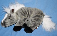"Breyer Horse Plush gray Snoozy Stable Snoring soft toy Stuffed Sleepy Animal 15"" #Breyer"
