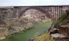 Bridge across the Snake River in Idaho.