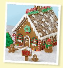 Make your house a Gingerbread House!