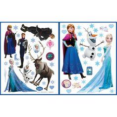 Jégvarázs falmatrica szett, 2 db-os Disney Frozen, Decoupage, Elsa, Disney Characters, Fictional Characters, Aurora Sleeping Beauty, Disney Princess, Painting, Art