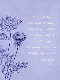 I'm an introvert...I REALLY am!!!!!!