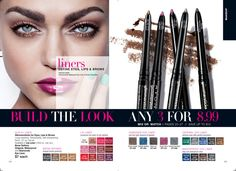 #avon #lip #eye #liners on #sale 3 for 8.99 at www.monicahertzog.avonrepresentative.com