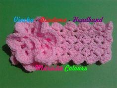 """Crochet Tutorial """"Abanico"""" Punto Fantasía por Maricita Colours - YouTube"""