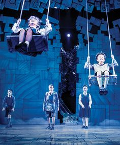 The company of Matilda the Musical. Kerry Michael: Subsidised theatre could learn from the commercial sector