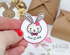 Ostern Stampin Up - Hasenpost