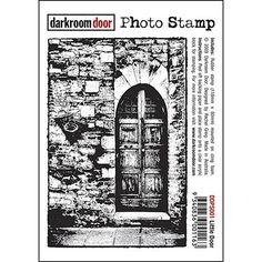 Darkroom Door Photo Stamp - Little Door