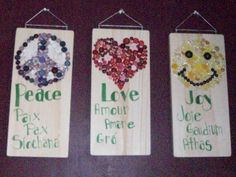 Upcycled home decor!