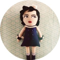 Hand painted dolls